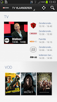 Screenshot of TVVlaanderen