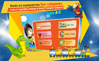 Screenshot of Kids Learn ABC Train (Lite)