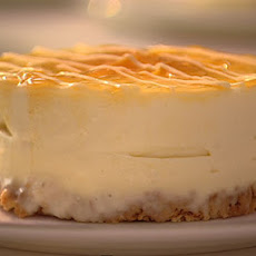 Lemon Amaretti Cheesecakes