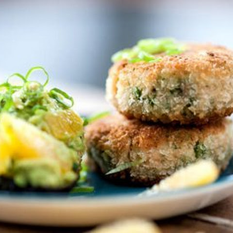 Fish Cakes With Avocado
