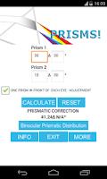 Screenshot of PRISMS!