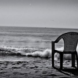 waiting for you by Arnab Bhattacharyya - City,  Street & Park  Neighborhoods
