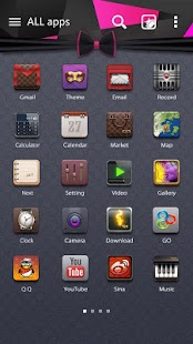 Yuppie GO Launcher Theme - screenshot
