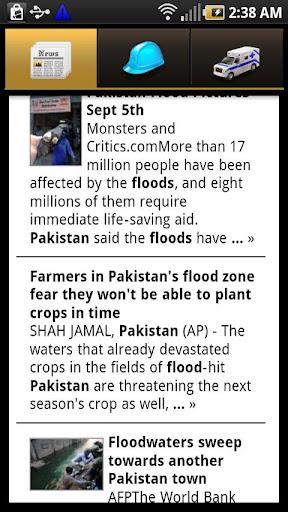 Pakistan Flood Relief 2010