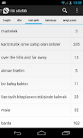 Screenshot of itü sözlük mobil