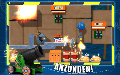 CrazyMachines GoldenGears Lite Screenshot