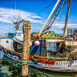 by Pedro Tasinato - Transportation Boats