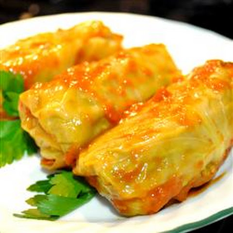 10 Best Ground Beef And Rice Stuffed Cabbage Rolls Recipes | Yummly