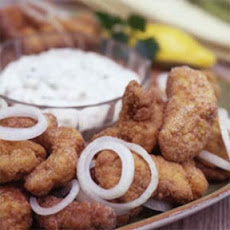 Rock's Fried Catfish with Creole Tartar Sauce