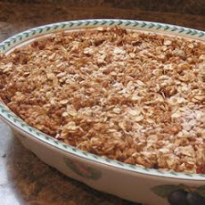 Low Sugar Strawberry Rhubarb Crumble