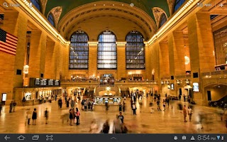 Screenshot of Grand Central Live Wallpaper