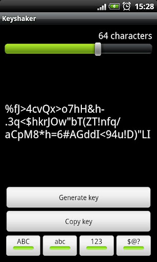 Password generator - Keyshaker