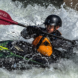 In the Mixer by Mike Watts - Sports & Fitness Watersports ( wahitwater, kayake )