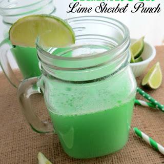 Lime Sherbet Punch Ginger Ale Recipes