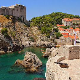 Dubrovnik Croatia by David Ferris - Buildings & Architecture Public & Historical