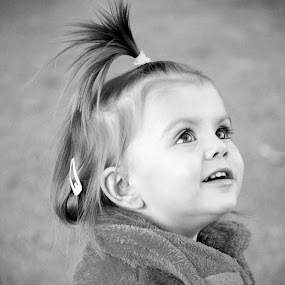Ena by Tina Balgavi - Babies & Children Child Portraits ( child, funny, baby, smile, hair, kid,  )