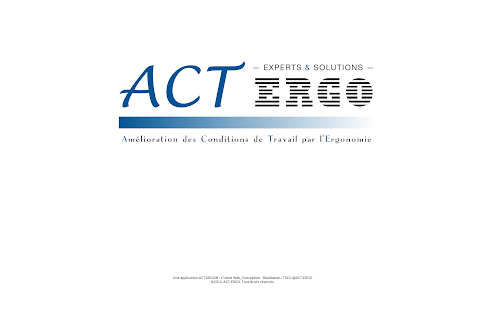 ACT-ERGO : Experts & Solutions - screenshot