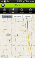 Screenshot of Amber Alert GPS Teen