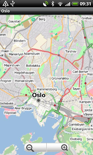 Oslo Street Map
