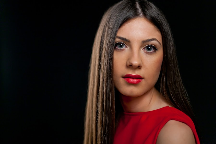 Gabriela Banica by Ciprian Alin - People Portraits of Women ( studio, canon, woman, portret, 5d markii )