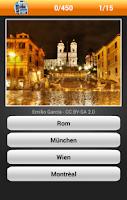 Screenshot of Errate die Stadt! Bilder-Quiz!