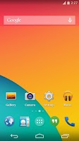 Screenshot of Android 4.4 Kitkat Theme