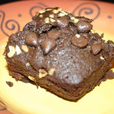 Quick Mix in the Pan Double Chocolate Chip Cake