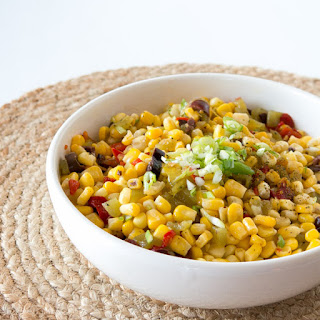 Sweet Corn and Green Chili Slaw