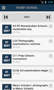 School Website - screenshot