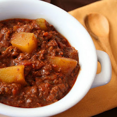 Chocolate Pumpkin Chili