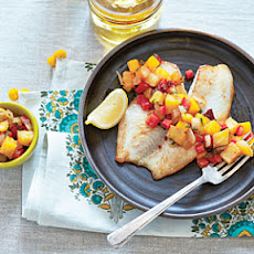 Grilled Pineapple-Mango Salsa