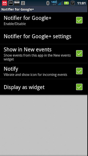 SmartWatch Notify for Google+