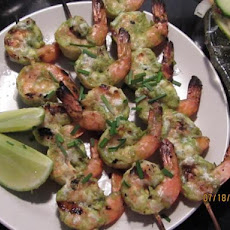 Grilled Shrimp With Lime-Cilantro Marinade