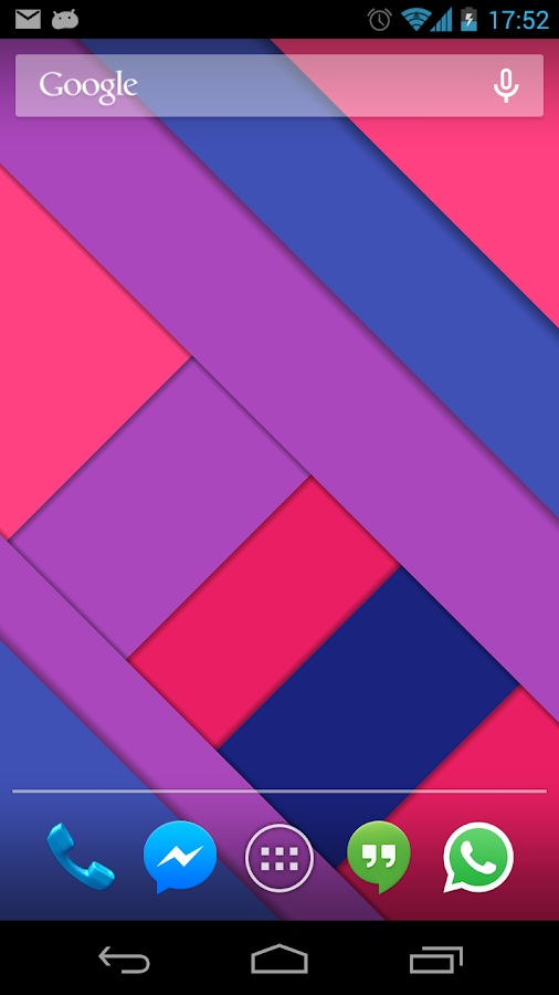 Material Design Live Wallpaper Screenshot 1