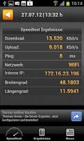 Screenshot of Speedmeter