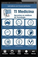 Screenshot of App Medicina