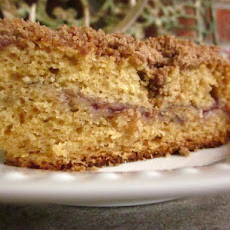 Yogurt-Cranberry Coffeecake