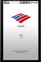 Screenshot of BofA Health