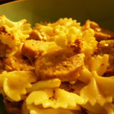 Farfalle With Cauliflower and Sausage