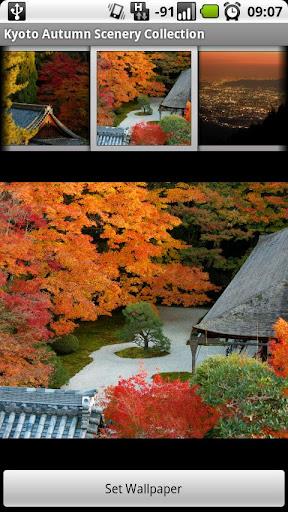 京都秋の風景