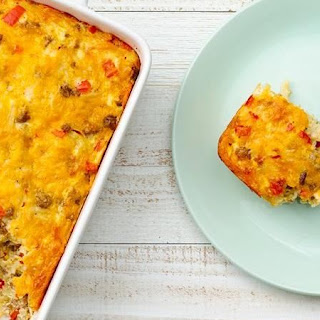 Do-Ahead Sausage Breakfast Bake