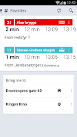 Screenshot of RuterReise