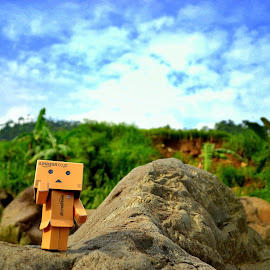 Spirit Danbo  by Jhonatan Haku Saputra - Landscapes Mountains & Hills