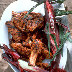 Red Chile Lamb Chops