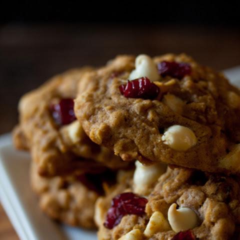 Pumpkin Spiced Oatmeal Pecan Cookies Recept | Yummly