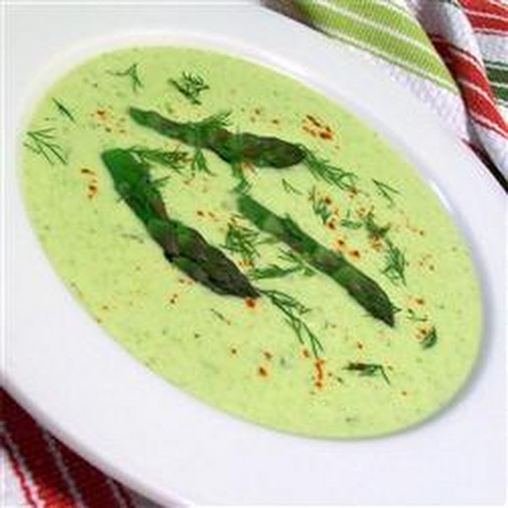 Fresh Asparagus Soup Recipe — Dishmaps