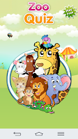 Screenshot of Zoo Quiz Animal Sounds