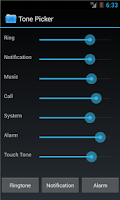 Screenshot of Tone Picker - MP3 Ringtones