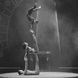 Circus Acrobats by Stephen Beatty - News & Events Entertainment