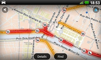 Screenshot of TomTom Western Europe